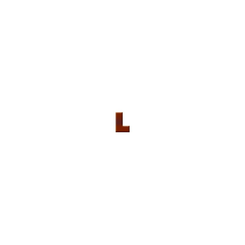 L - Chocolate Letter