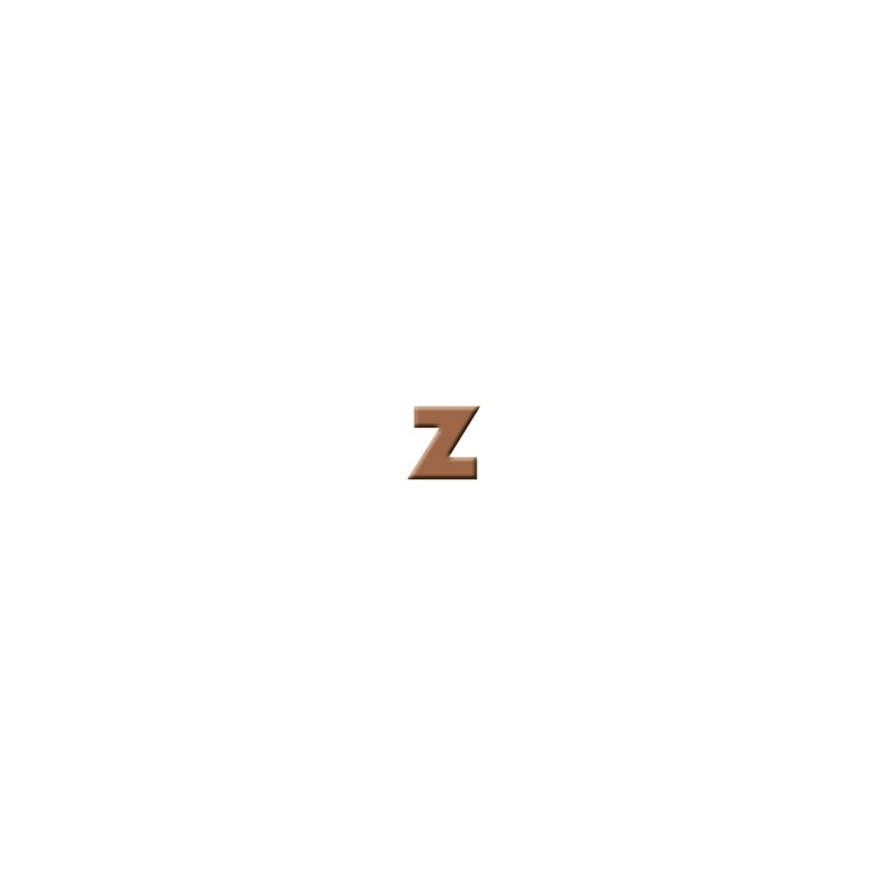 Z - Milk Chocolate Letter